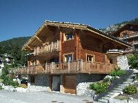 Luxury large chalet in Anzère only a few minutes from the city center.